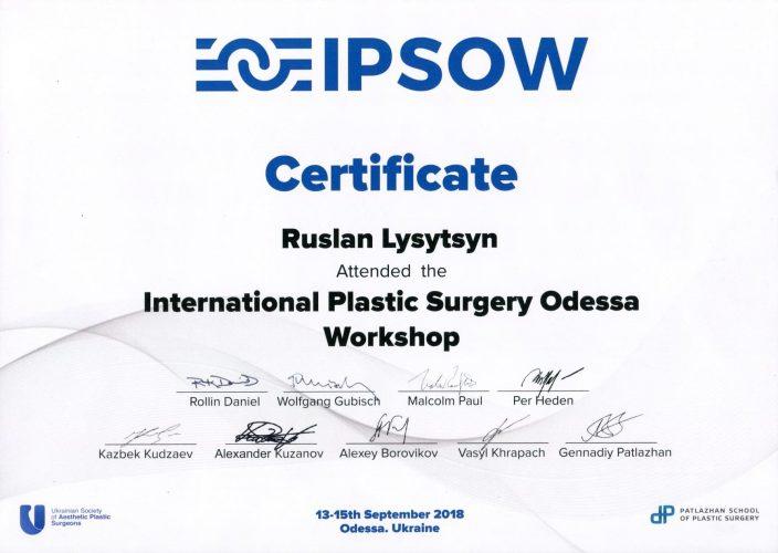 International_Plastic_Surgery_Odessa_Workshop_13_16_September,_2018